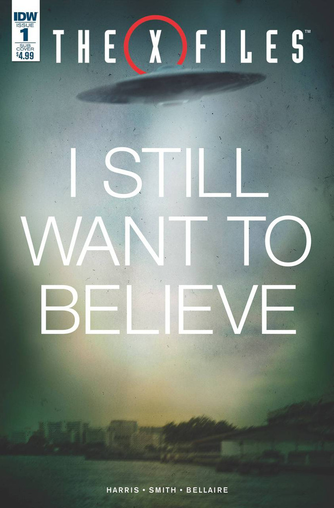 X-Files (2016) #1b Limited Variant