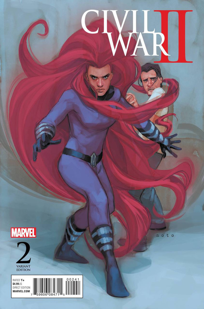 Civil War II #2e Limited 'NOTO MEDUSA' Variant