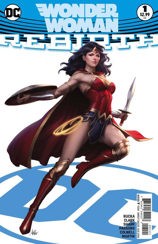 Wonder Woman: Rebirth #1b Limited Variant