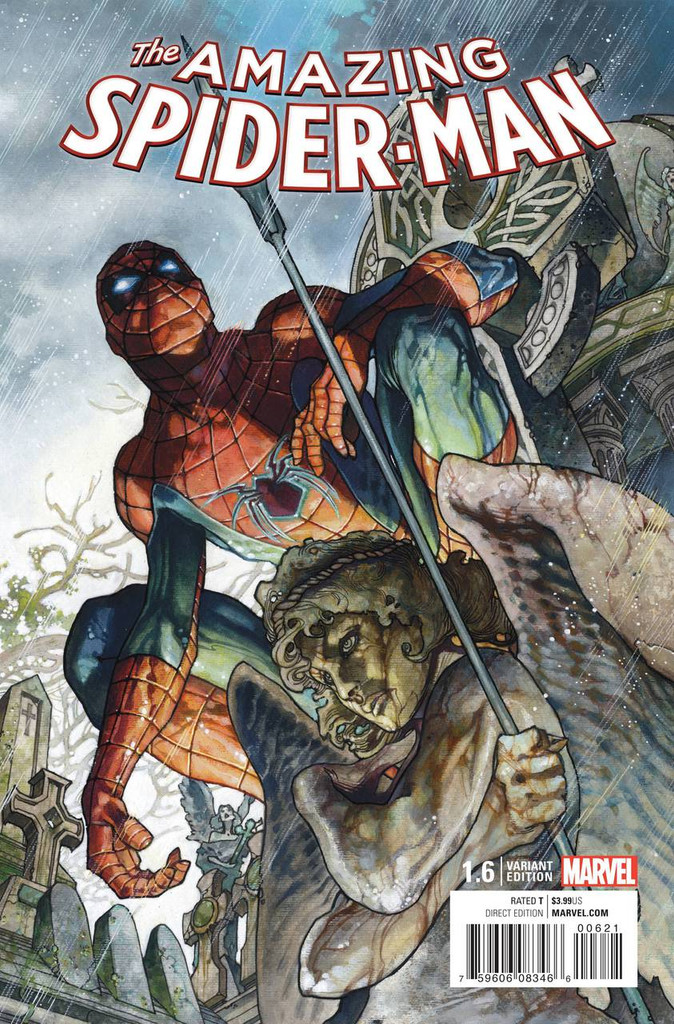 Amazing Spider-Man # 1.6b Limited 'BIANCHI' Variant