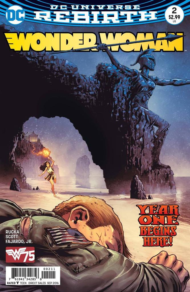 Wonder Woman (2016- ) #2