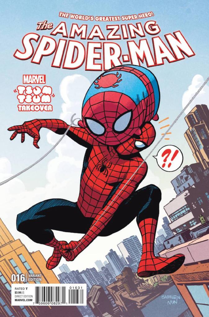 Amazing Spider-Man # 16 Limited 'TSUM TSUM' Variant