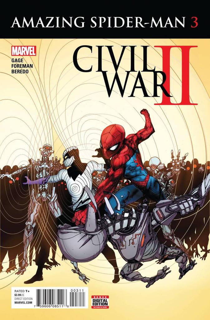 Civil War II: Amazing Spider-Man #3 (of 4)