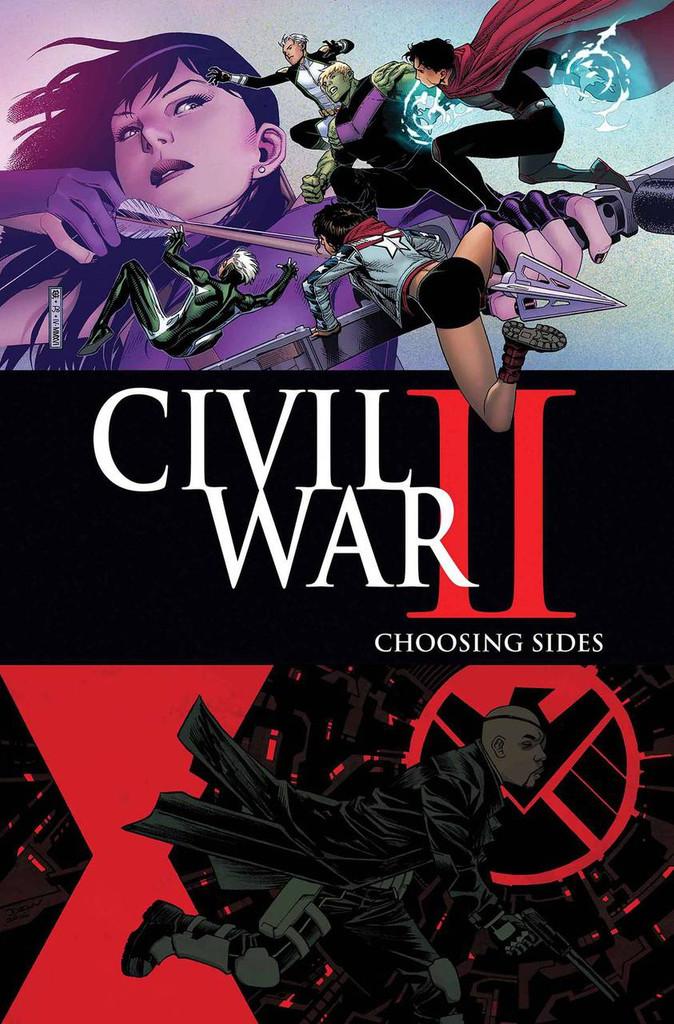 Civil War II: Choosing Sides #4 (of 6)