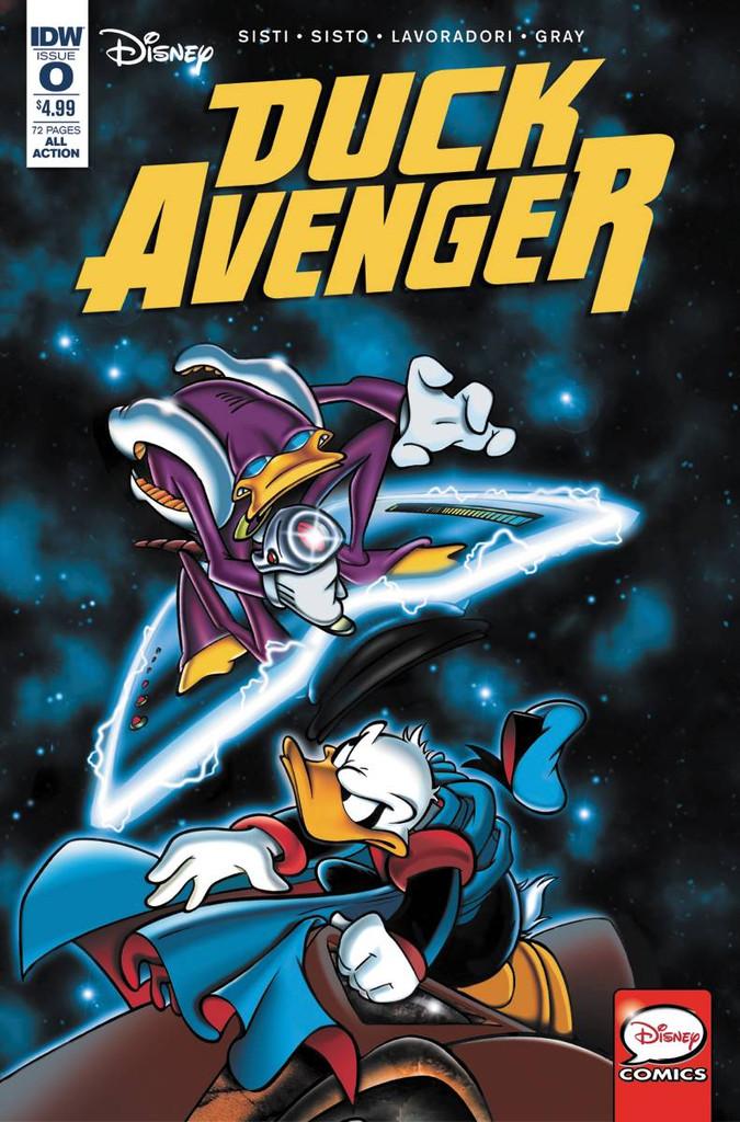 Duck Avenger #0