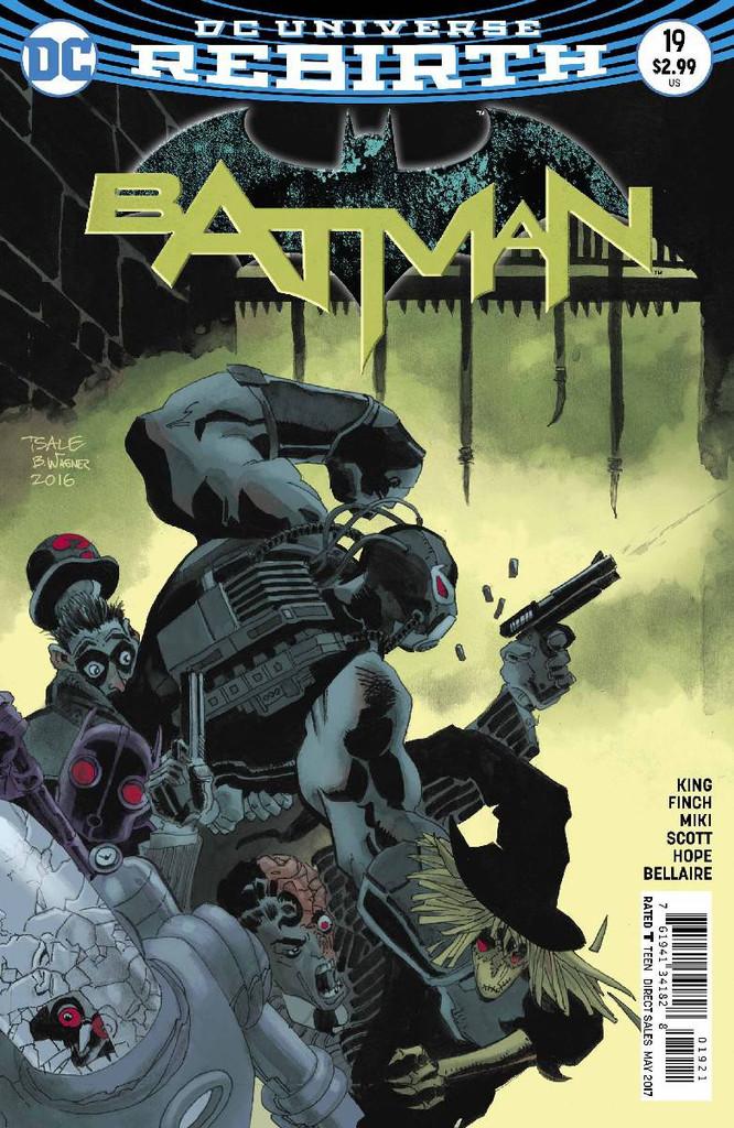 Batman #19 Limited Variant (2016- )(Rebirth)