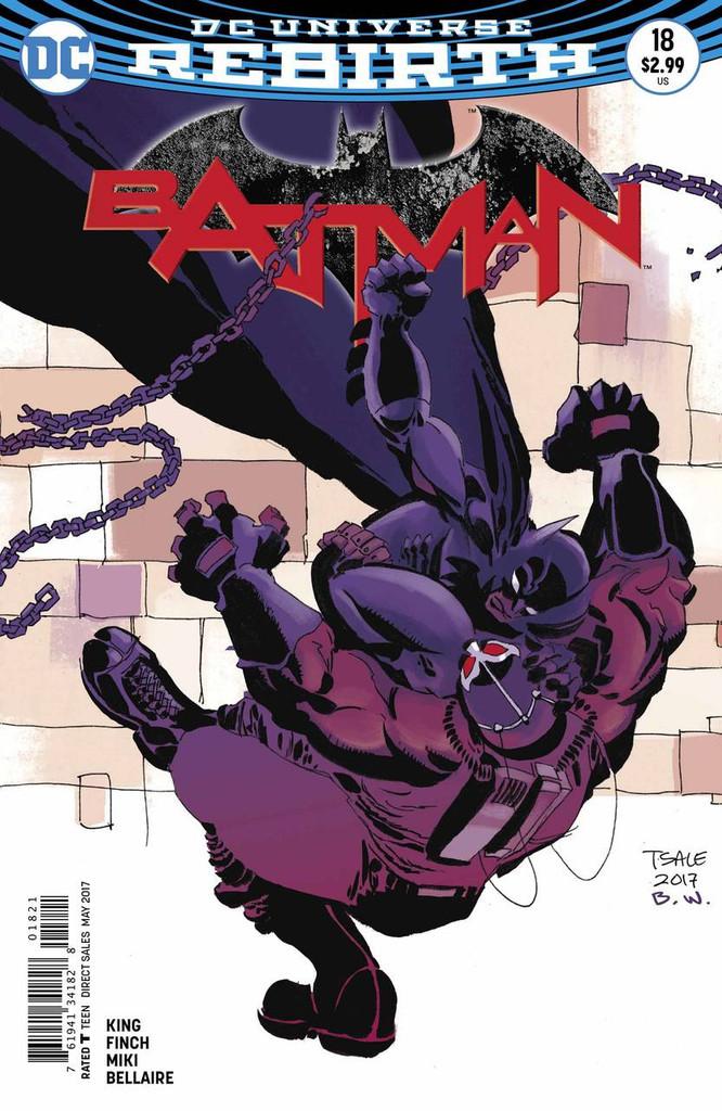 Batman #18 (2016- )(Rebirth) Limited Variant