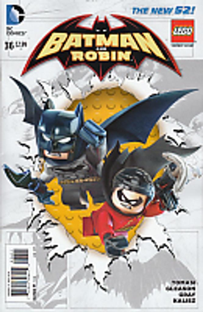Batman & Robin # 36b Limited 'LEGO' Variant