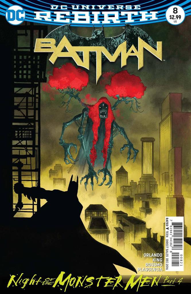 Batman #08 (2016- )(Rebirth) Limited Variant