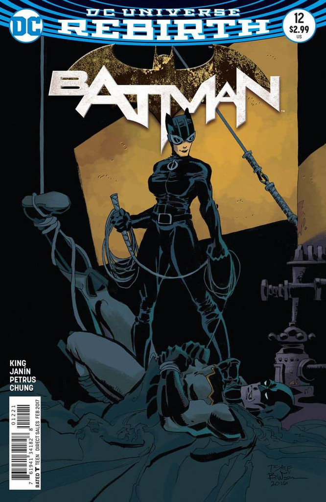 Batman #12 (2016- )(Rebirth) Limited Variant