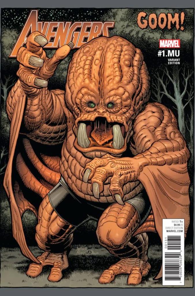 Avengers #1.MU (2017) (one-shot) Limited Variant