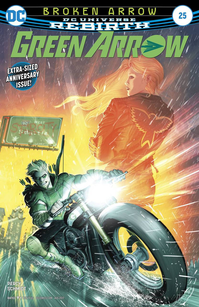 Green Arrow #25 (2016- )(Rebirth)