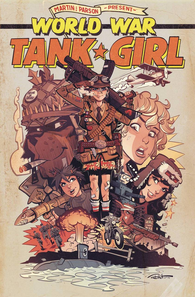 Tank Girl: World War Tank Girl #04 (of 4)