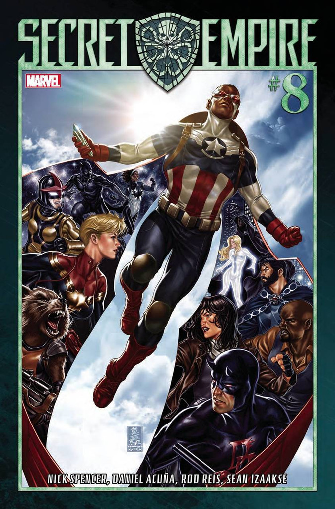 Secret Empire #08 (of 9) (2017)