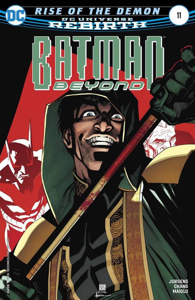Batman Beyond #11 (2016- )(Rebirth)