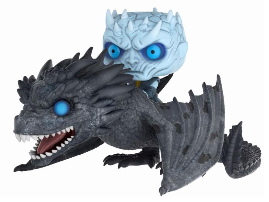 PRE-ORDER: FUNKO POP! Game of Thrones - Rides Vinyl Figure Night King & Dragon