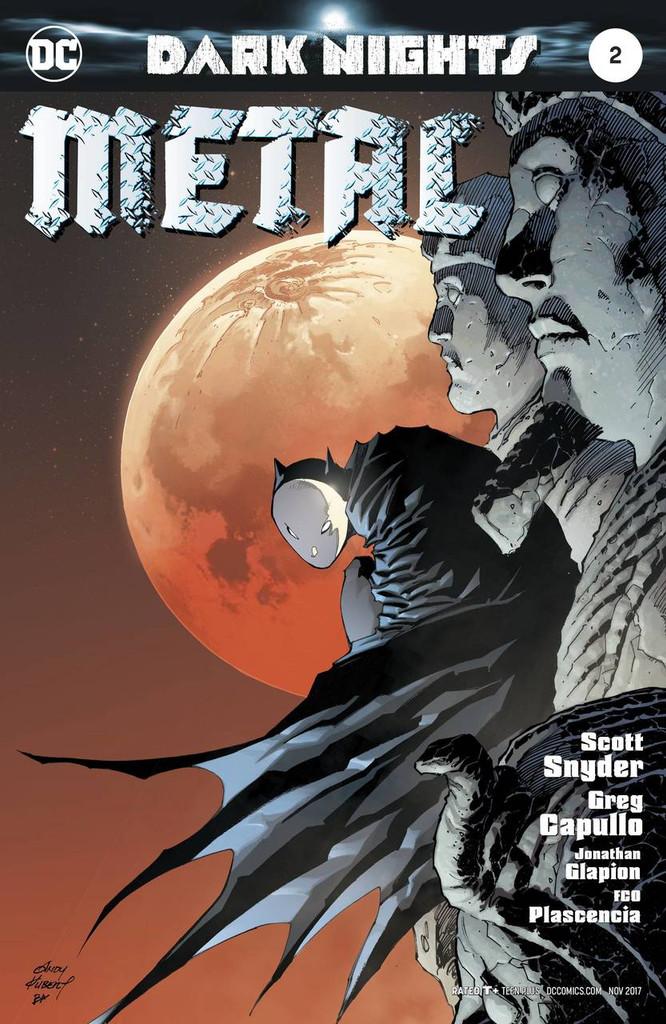 Dark Nights: Metal #02 (2017) Limited 'KUBERT' Variant