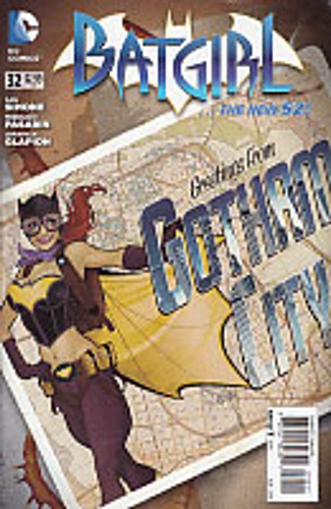 Batgirl # 32b limited 'BOMBSHELL' variant