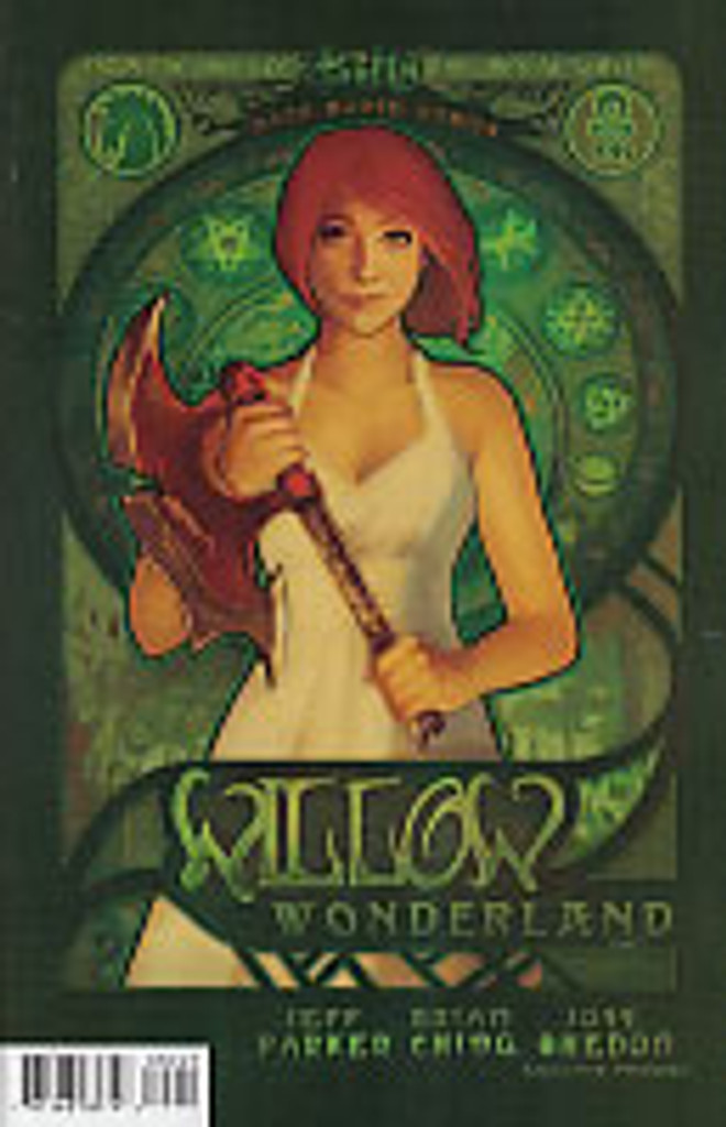 Buffy: Willow - Wonderland # 2b limited variant