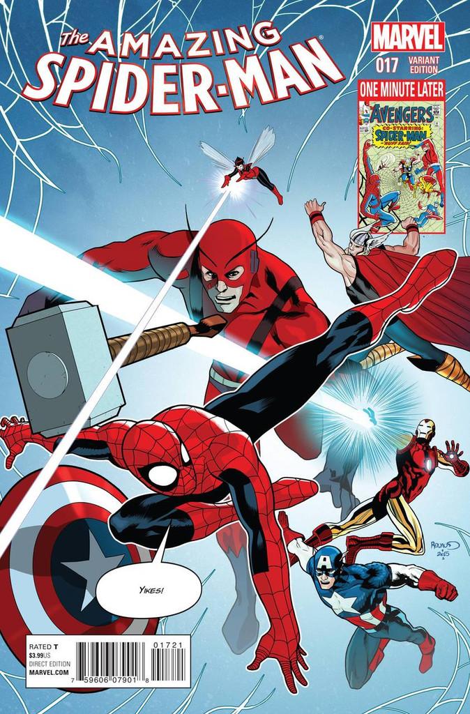 Amazing Spider-Man # 17b Limited 'AVENGERS' Variant