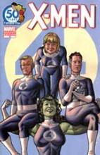 X-Men vol 2 # 16b limited 'FF ANIVERSARY' variant