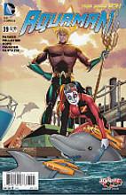 Aquaman # 39b 'Harley Quinn' variant