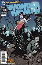 Wonder Woman # 35b limited 'MONSTERS' variant