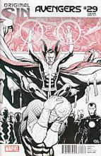 Avengers # 29b limited variant