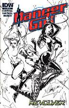 Danger Girl # 1 limited RI variant