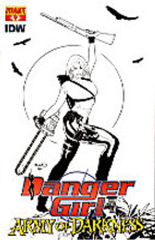 Danger Girl and the Army of Darkness # 4c limited variant