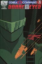 GI Joe: Snake Eyes # 10 limited RI variant