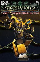 Infestation 2: Transformers # 1 limited RI variant