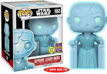 FUNKO POP! Star Wars - Snoke Holo (GLOW-IN-THE-DARK) SDCC Exclusive