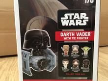 FUNKO POP! Star Wars - Bobble Head Darth Vader with Tie Fighter