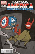 Captain America # 16b limited 'animal' variant
