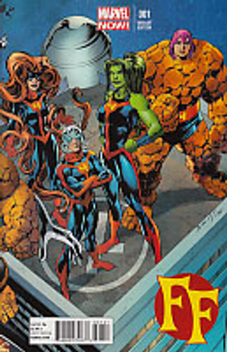 FF Vol 2: Issue # 001b Limited Variant