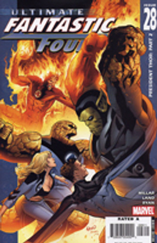 Ultimate Fantastic Four: Issue # 28