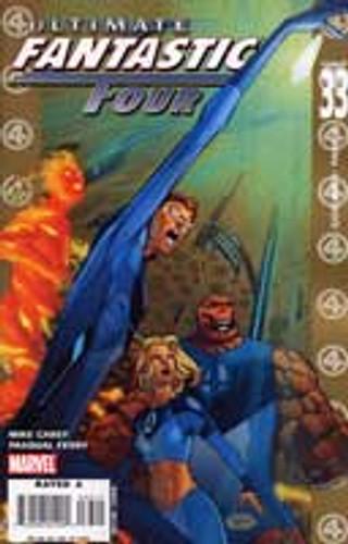 Ultimate Fantastic Four: God War Part 1 # 33