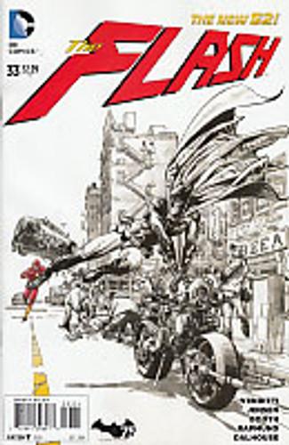 he Flash Vol 4: # 33b Limited Variant