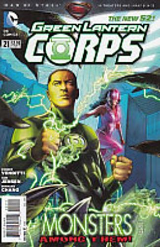Green Lantern Corps Vol.3 # 21