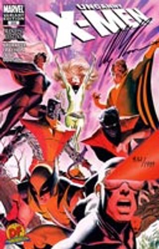 Uncanny X-Men vol 1 # 500c SIGNED BY ALEX ROSS
