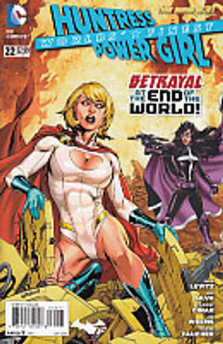 Huntress Power Girl (Worlds' Finest): Betrayal at the end of the World # 22