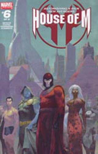 House of M: Astonishing X-Men New Avengers # 6 of 8