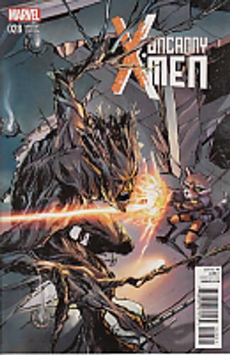 Uncanny X-Men # 28b limited 'GUARDIANS' variant