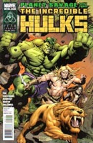 The Incredible Hulks: Planet Savage # 625
