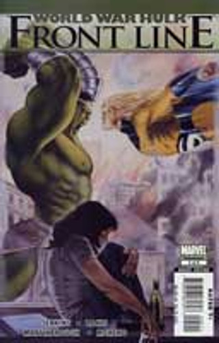 World War Hulk: Front Line Limited Series # 5