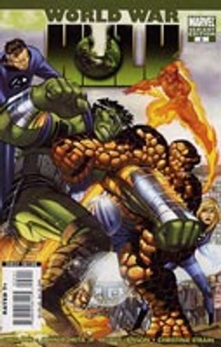 World War Hulk Limited Series # 2b Limited Variant