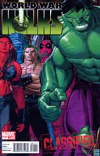 World War Hulks # 1