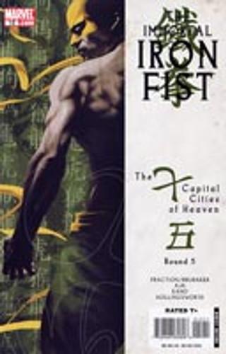 The Immortal Iron Fist # 12
