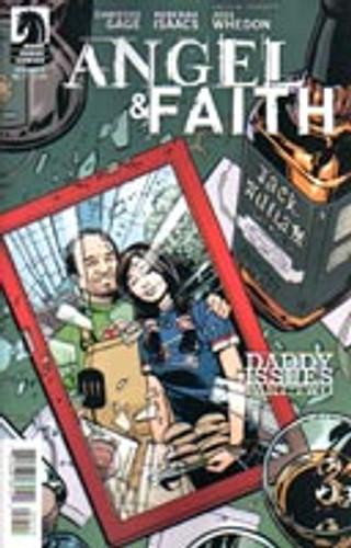 Angel & Faith # 7b Limited Variant